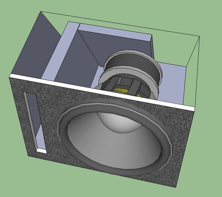 Slot ported enclosure - wedge type possible? - Car Audio